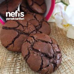 Dubble Çikolatalı Nefis Ve Kolay Kurabiye