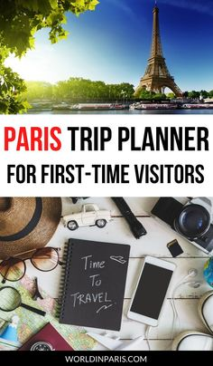 Plan the perfect trip to Paris, step by step, with this Paris Trip Planner! Checklists, Trip Itinerary, Notes, Best Tips by Locals and More  #paris #france