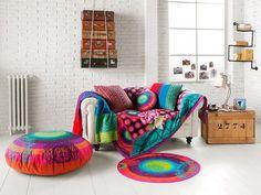 Casinha colorida: Malas e baús na decoração