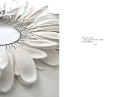 """Anne Franke: Paper Jewelry Collection """"Blanc de Neige"""" 