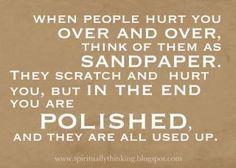 Sandpaper. clever! i like :)
