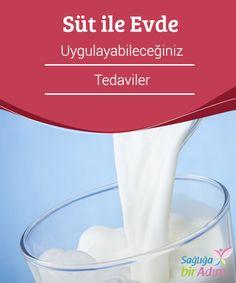 Süt ile Evde Uygulayabileceğiniz Tedaviler  Süt yüksek protein #içeriği ve içerdiği #karbonhidrat, fosfor, #potasyum, kalsiyum ve A, C, B12 #vitaminleri sayesinde her zaman en besleyici gıdalardan birisi olarak görülmüştür.