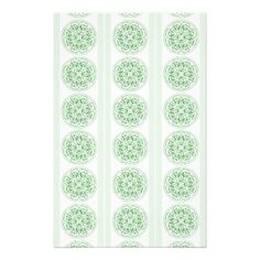 Celtic Knot Stained Glass Patterned Paper