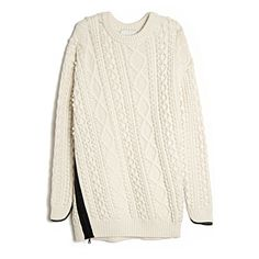 chunky cable knit obsession by Phillip Lim
