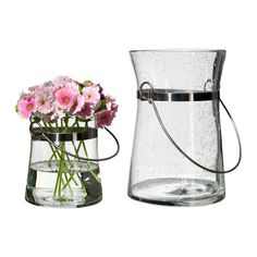 IKEA PS BRUNN Vase IKEA Mouth blown; each vase has been shaped by a skilled craftsman. #EasyPin