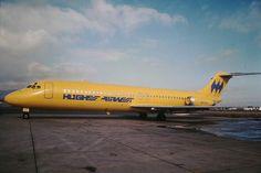 Hughes Airwest Douglas DC-9-31 N9330, circa 1970s. (Photo: Gary Granfors)