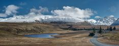 A Road Less Travelled - Mackenzie Country, New Zealand