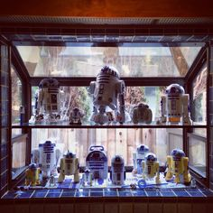 My R2D2 collection on display.