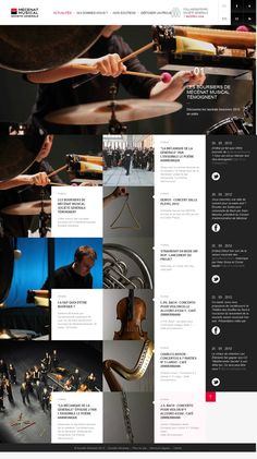 Web Design Inspiration Gallery   From up North