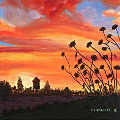 Western Glow by Carol Schmauder