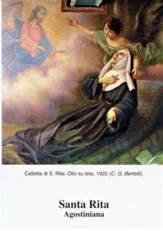 Sainte Rita, St Rita Of Cascia, Novena Prayers, Roman Catholic, Blessed, Faith, God, Painting, Products