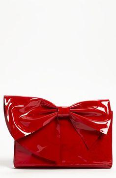 Valentino 'Lacca Bow' Clutch