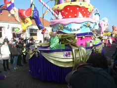 Carnaval. De optocht in Barger-Compascuum, Emmen op 14-2-2015