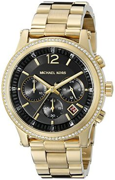 Women's Heidi Gold-Tone Watch MK6063 ** Read more  at the image link.(It is Amazon affiliate link) #WearIT