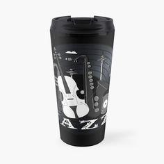 Jazz Lovers - Music On Vinyl by BlueMoonGear   Redbubble Vinyl Music, Vinyl Records, My Coffee, Coffee Mugs, Jazz Instruments, Classic Jazz, Travel Mugs, I Shop, Lovers