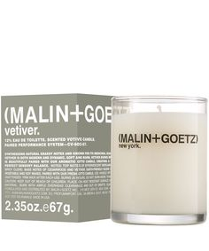 Malin+Goetz Vetiver Candle 67g | Scented Candles | Liberty.co.uk