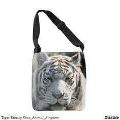 Tiger Face Crossbody Bag