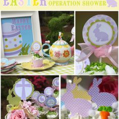 I just downloaded this and it's pages and pages of cute Easter party stuff. It's literally a party in itself!
