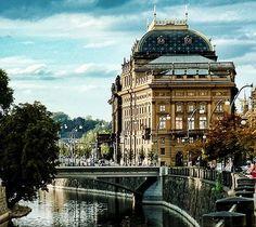 Prague - Národní divadlo.