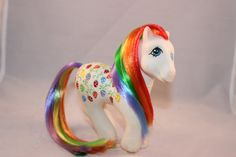 My Little Pony vintage Sugarberry Custom Rehair and by AJsPonies