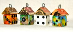Dice House Birdhouse Charm Kit - Fun & Funky Everything You Need To Do It…