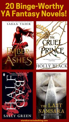 Do you love young adult fantasy stories? Love escaping to a magical kingdom or a mythological world? Well, here are 20 of the most gripping young adult fantasy books you should definitely add to your list! #youngadultfantasy #youngadultbookrecommendations #fantasybookstoread #yabookstoread #yabookrecommendations #yafantasybooklist #bookstoreadthisyear Fiction Writing, Writing A Book, Ya Books, Good Books, Authors, Writers, Fantasy Books To Read, Personal Development Books, Wish You The Best