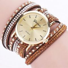 SHARE & Get it FREE | Artificial Leather Rhinestone Rivets Bracelet WatchFor Fashion Lovers only:80,000+ Items • New Arrivals Daily • Affordable Casual to Chic for Every Occasion Join Sammydress: Get YOUR $50 NOW!