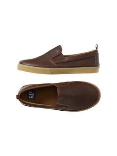 "Perforated slip-on sneakers  Alex- "" I would purchase these for him, to wear with his casual outfits"""