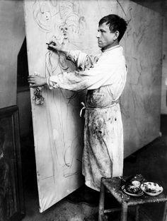 Otto Dix   Sartle - Rogue Art History Artist Life, Artist Art, Artist At Work, Famous Artists, Great Artists, Art Dégénéré, Studios D'art, Degenerate Art, Franz Marc