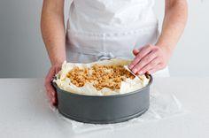 Baklava Cheesecake.  Yum!!