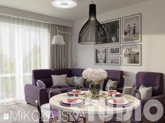 elegancki salon Salon - zdjęcie od MIKOŁAJSKAstudio