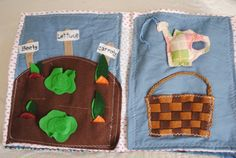 CHILDREN'S  BUSY BOOK soft quiet book felt by SunsetBlueGifts