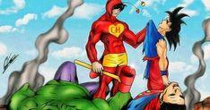 Chapolin is more powerful than everyone! Mexico Tattoo, Cartoon Crossovers, Hip Hop Art, Marvel Vs, Anime Comics, Comic Character, Cartoon Art, Canvas Art Prints, Dragon Ball