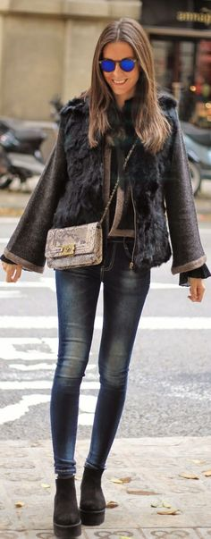 Marble Black Milly Jacket by BCN Fashionista