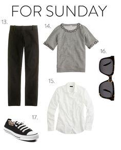 Sunday Outfit: The Basic Black Pant