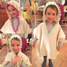 Our cutest customer of the evening  ❤️ with our Turkish kids ponchos @cocochaillot 2 colors available made of cotton & bamboo. Contact me for inquiry.  #showroom #geneva #turkishtowel #poncho #kidsponcho #cottonbamboo #atmosphereturque #lou_dferreira #pestemal #handmade #turkishponcho