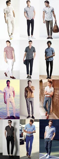 short sleeve shirt ideas for men