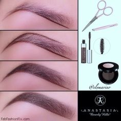 FabFashionFix - Fabulous Fashion Fix | Beauty: How to shape eyebrows with eyebrow kit?