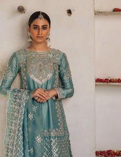 Nikkah/ dholki/ mehndi/ outfit inspo for guests Nikkah Dress, Pakistani Formal Dresses, Eid Dresses, Bridal Dresses, Red Wedding, Wedding Wear, Hijabi Wedding, Nikah Ceremony, Mehndi Outfit