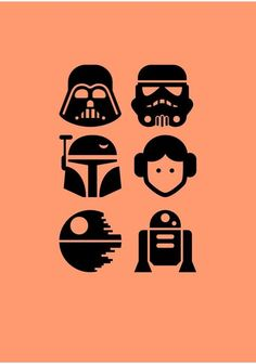 Star Wars Fan Art, Simbolos Star Wars, Star Wars Stencil, Finn Star Wars, Star Wars Icons, Star Wars Gifts, Star Wars Party, Star Wars Poster, Star Wars Humor