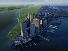 Landscape ecologist Eric Sanderson and illustrator Markley Boyer used a British map from 1776 to create 3D images of how Manhattan looked in 1609.