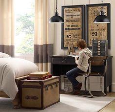 industrial boys bedroom - Google Search