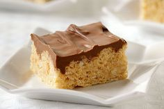 Wow the crowd with Frosted Peanut Butter RICE KRISPIES TREATS®. Frosted Peanut Butter RICE KRISPIES TREATS® are a fantastic upgrade to a timeless treat.