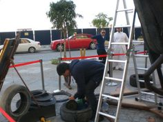 the tire artist M.Siakkou-Flodin in Dubai street work art, check it out Outdoor Sculpture, Sculpture Art, Sculptures, Tire Art, Street Work, Trash Art, Tyres Recycle, Scrap Metal Art, Recycled Materials