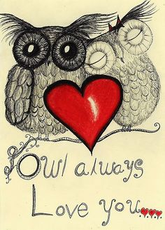 Owl always love you by InkyDreamz