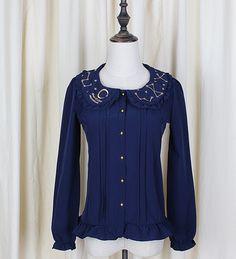 2015 Nieuwe Mode Vrouwen Zomer Zoete Chiffon Lolita Blouses Korte Mouw Wit Shirt voor Meisje Camisa Mujer in           nieuwe Mode Vrouwen Zomer Zoete Chiffon Lolita Blouses Korte Mouw Wit Leuke Shirt voor Meisje Cami van Shirts& blouses op AliExpress.com   Alibaba Groep