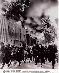 I remember my little brother and I watching Godzilla movies when we were kids. Even today, I still laugh at their campy charm.