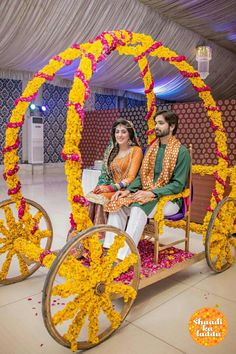 Amazing bridal entry ideas which are memorable and personifies you, from loud punjabi entry to unique scooter drive, check out these fun Ideas Desi Wedding Decor, Wedding Stage Decorations, Wedding Mandap, Flower Decorations, Wedding Events, Wedding Arches, Wedding Backdrops, Weddings, Bride Entry