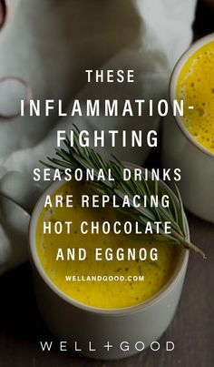 Inflammation fighting winter wellness drinks