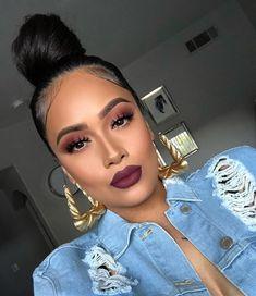 Gorgeous Makeup: Tips and Tricks With Eye Makeup and Eyeshadow – Makeup Design Ideas Perfect Makeup, Cute Makeup, Glam Makeup, Gorgeous Makeup, Makeup Inspo, Makeup Inspiration, Makeup Tips, Beauty Makeup, Makeup Looks